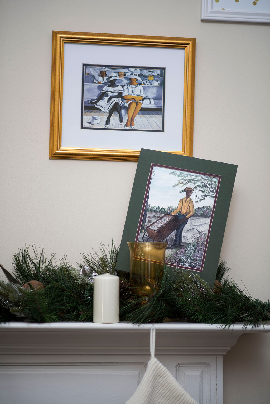 DSC_2580 Lowcountry Christmas: Oyster and Gullah Inspired Decor