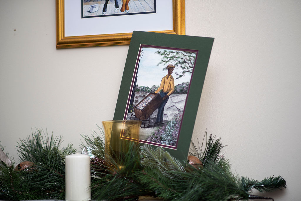 DSC_2582 Lowcountry Christmas: Oyster and Gullah Inspired Decor