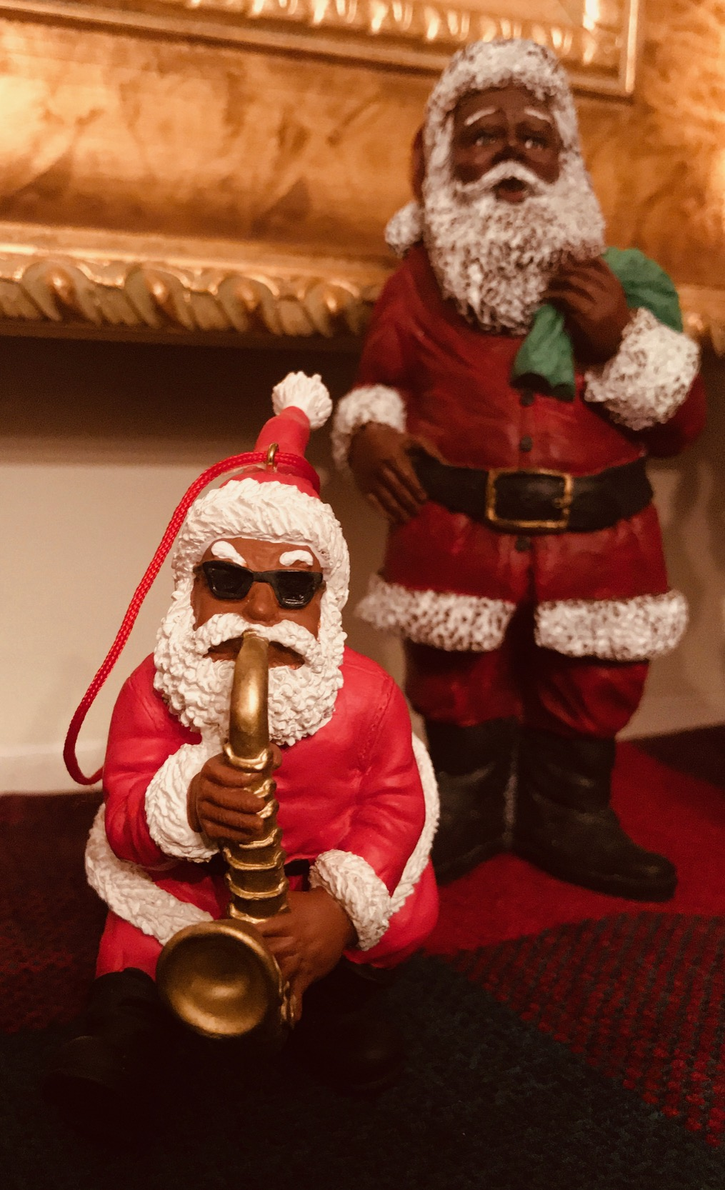 image3 African American Holiday Traditions: Black Santa in Upstate, SC