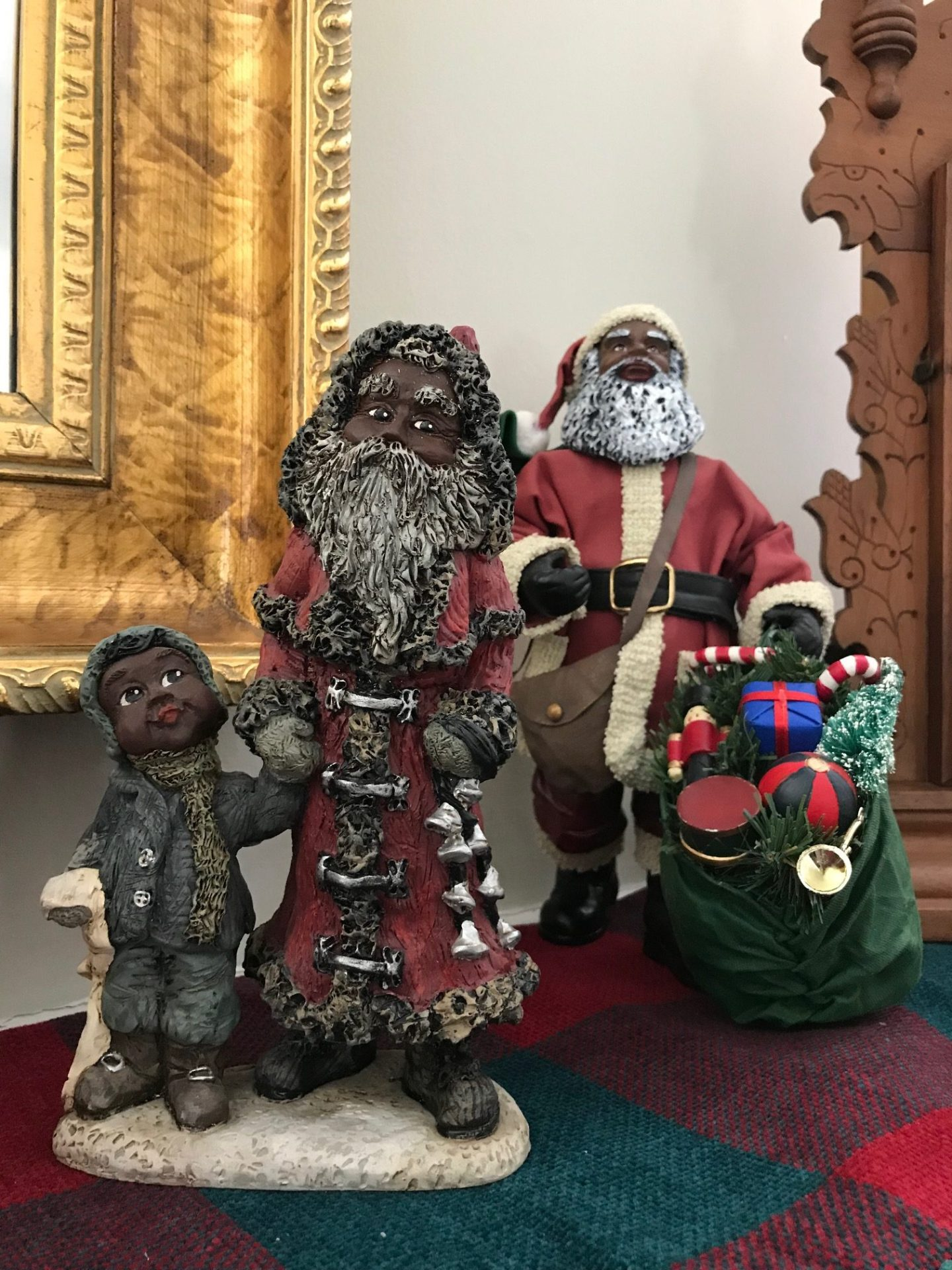 image9-1440x1920 African American Holiday Traditions: Black Santa in Upstate, SC