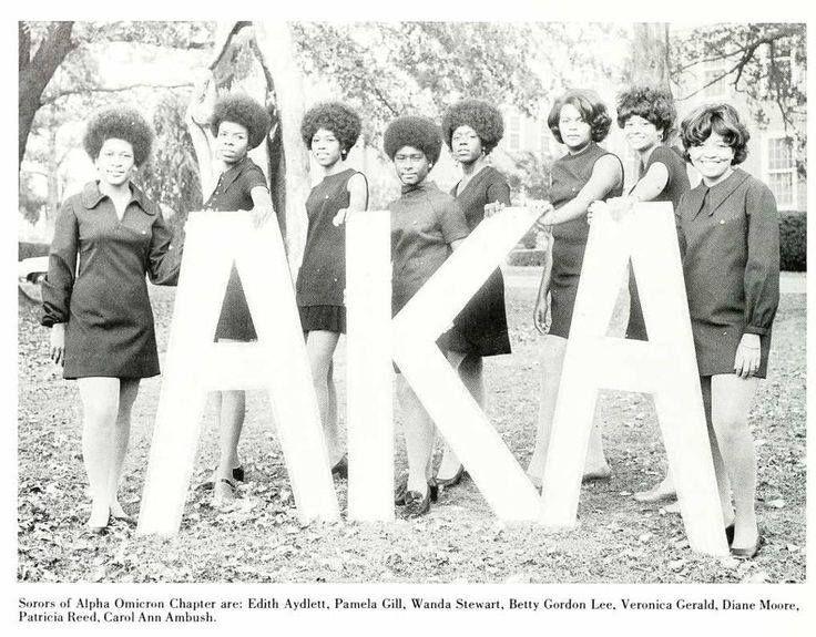 8a12e01a068674dc96118866c7cab62a-aka-sorority-sorority-life Vintage Images of Alpha Kappa Alpha