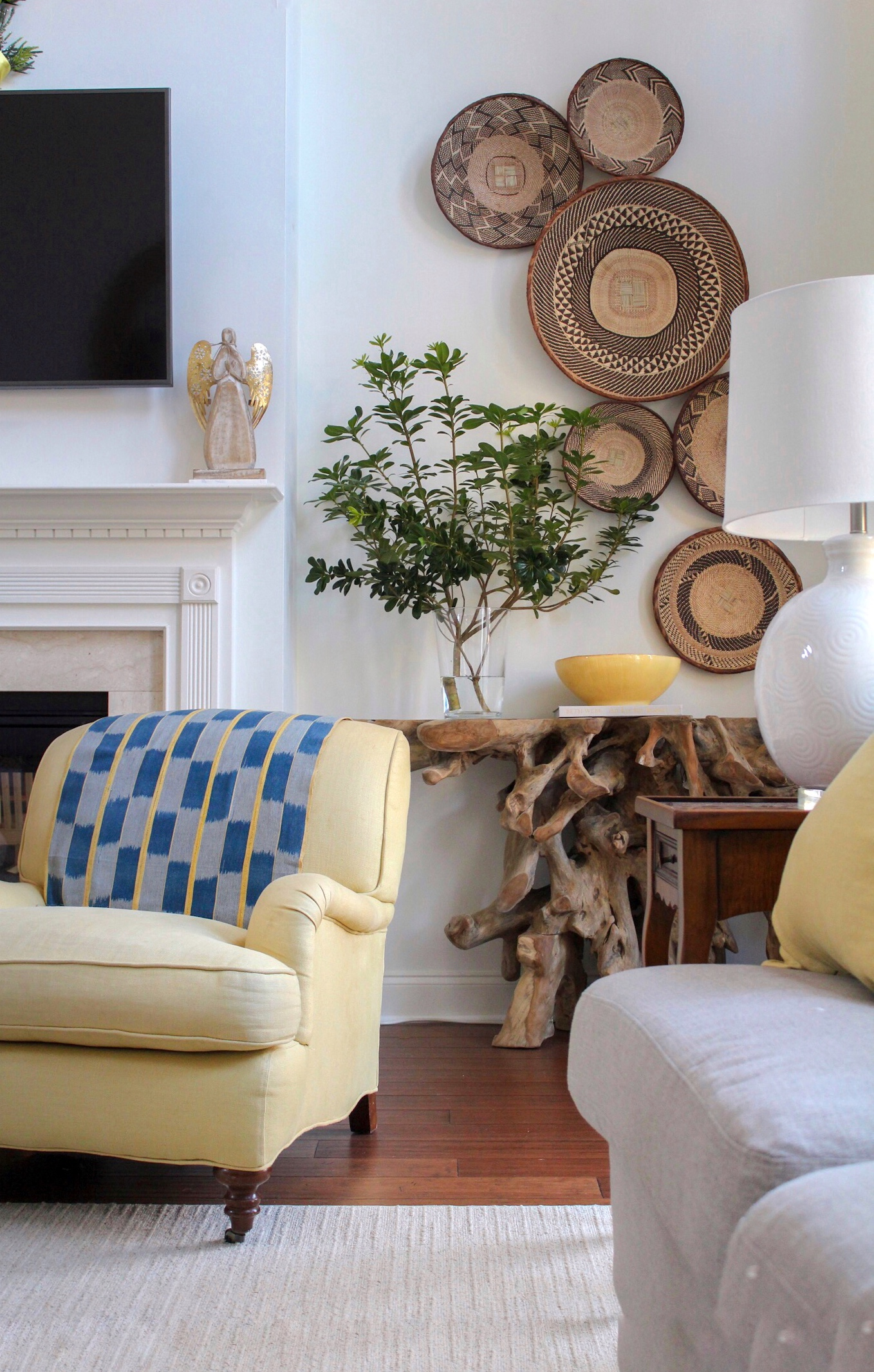 ErikaWardInteriors_AddTexture Home Improvement Tips for the New Year from Black Southern Belle Design Mavens