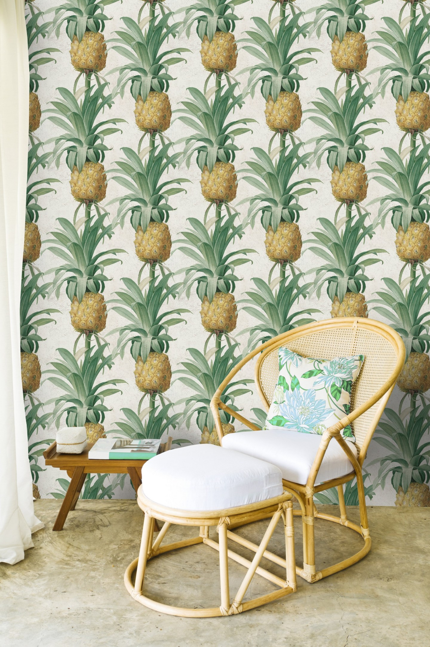 Lime-Lace-Pineapple-Wallpaper-by-MINDTHEGAP-1642174-1-1440x2168 Pineapple Decor: Tips for Decorating Your Home with Southern Hospitality