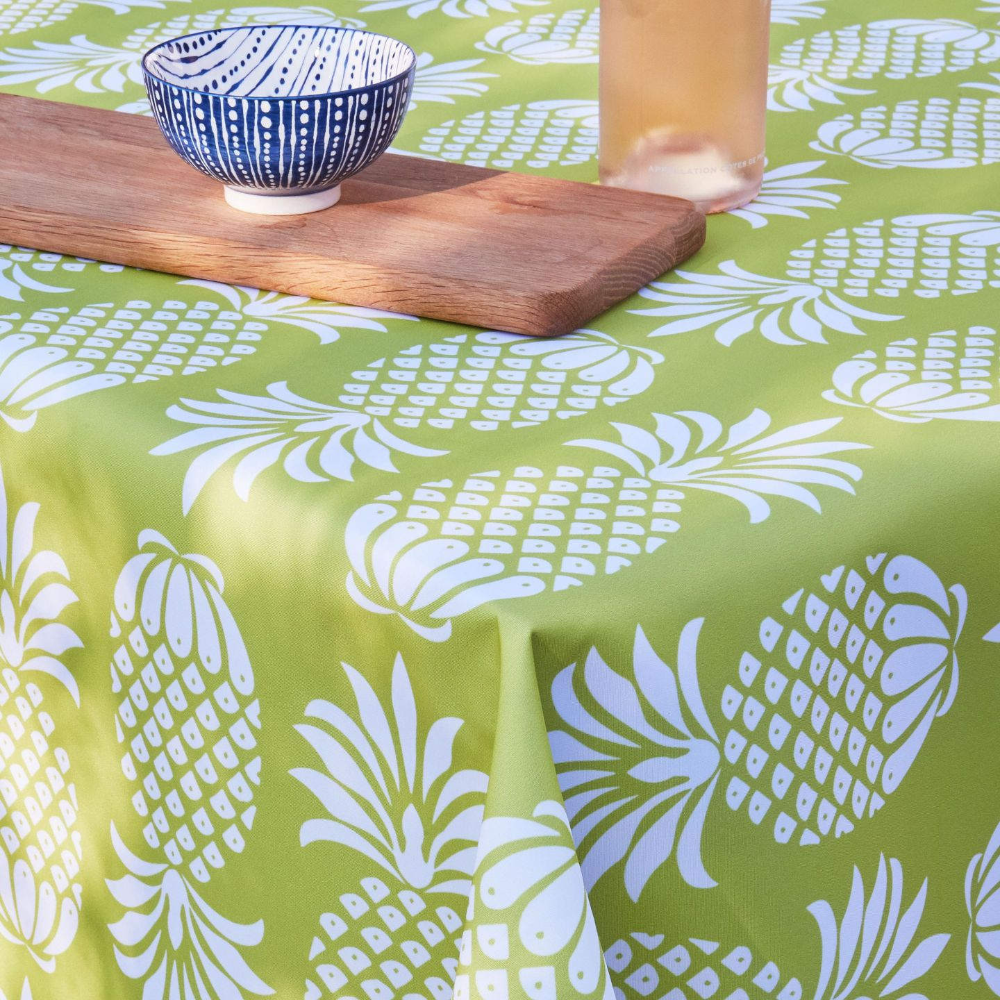 Penelope-Hope-Pina-Colada-Chartreuse-Outdoor-Fabric-2034935-1-1440x1440 Pineapple Decor: Tips for Decorating Your Home with Southern Hospitality