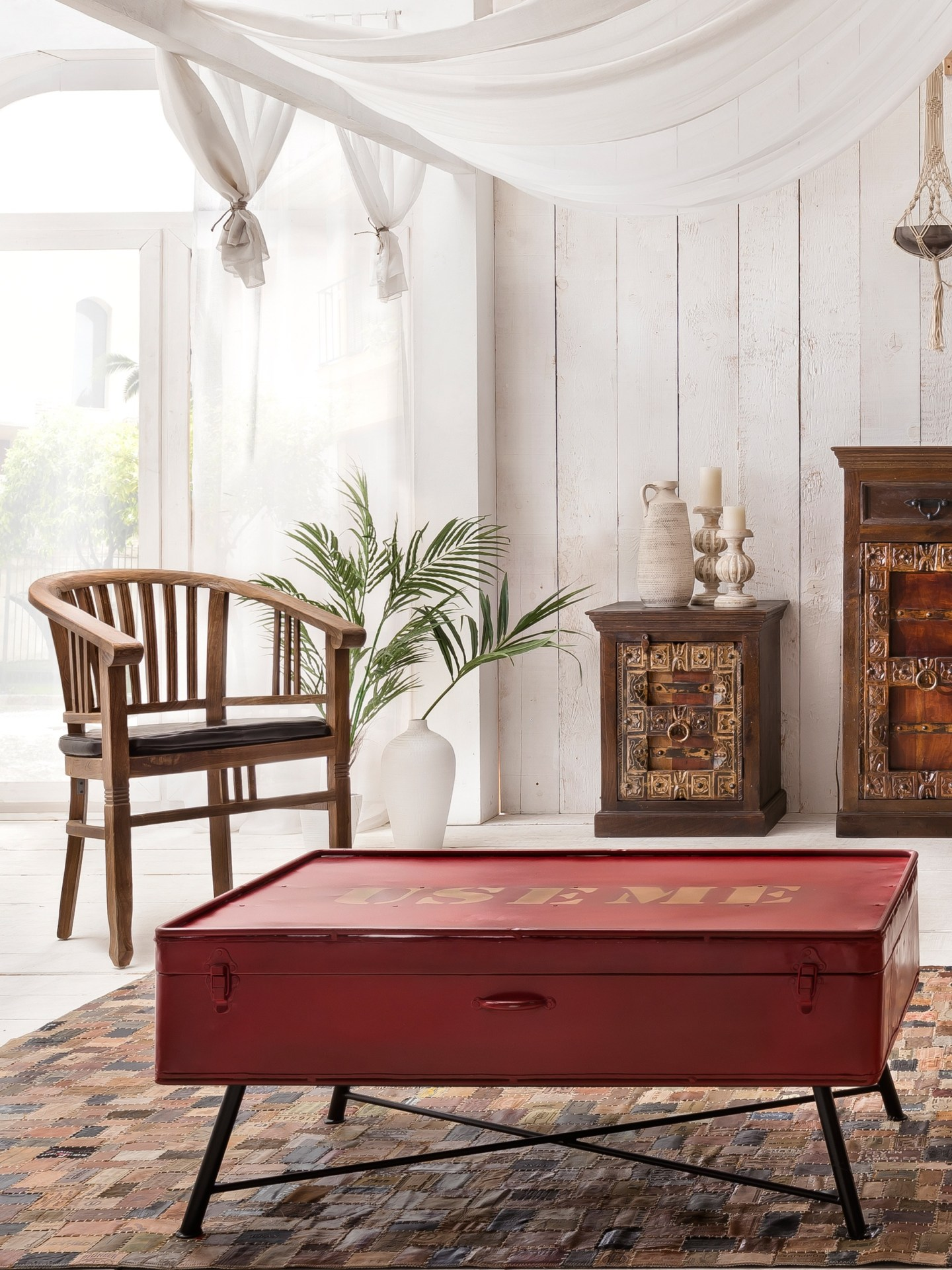 Red-Trunk-Coffee-Table-1440x1921 DST Home Decor Inspiration: Crimson and Cream Design Style