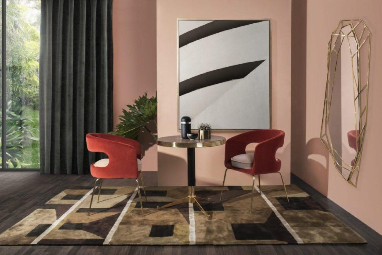 RugSociety_1969376_AMidCenturytwistwithWestRug.jpg-1440x960 Pink and Green Rooms We Adore - Alpha Kappa Alpha Decor