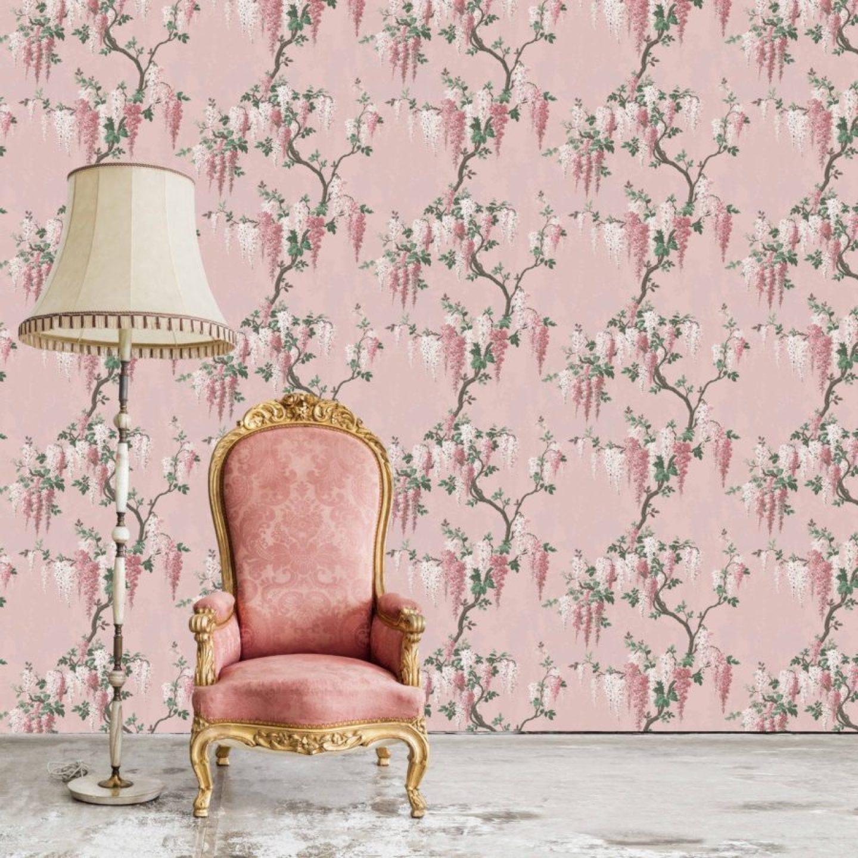 WoodchipandMagnolia_2856162_WisteriainPinkBloomFlo.jpg-1440x1440 Pink and Green Rooms We Adore - Alpha Kappa Alpha Decor