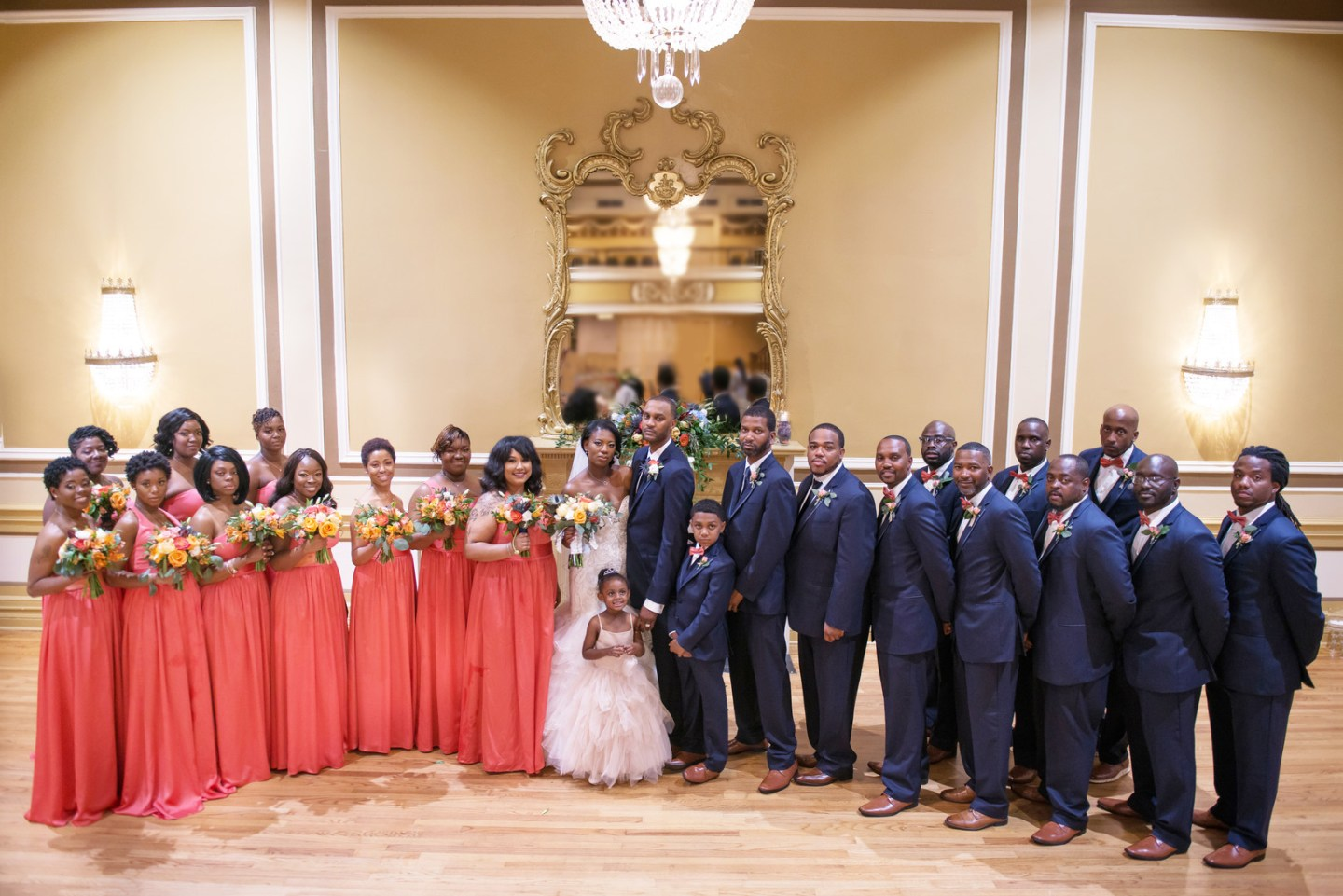 Charleston, SC Spring Wedding at Francis Marion Hotel