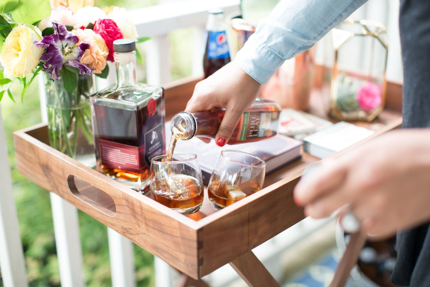 Front-Porch-0099-1440x960 Southern Entertaining: Front Porch Party with Dessert and Drinks