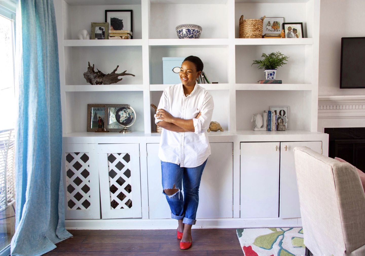 IMG_2031-1440x1009 Black Southern Belle Blogger Home Tour: Preppy Home  Style in Raleigh, NC