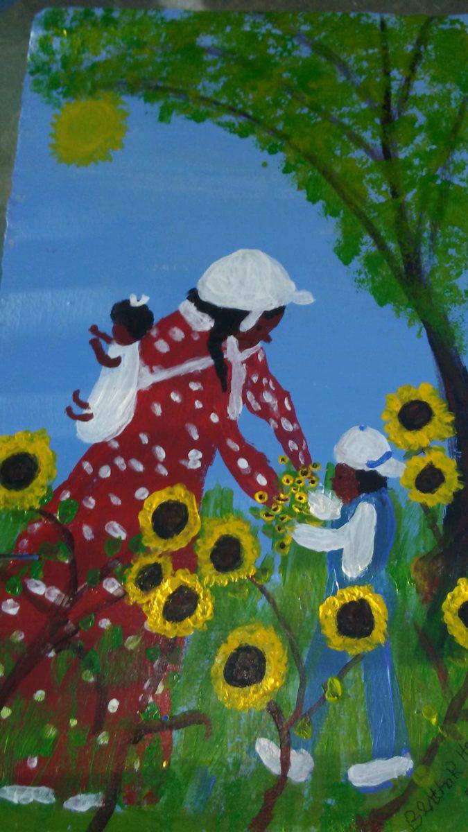 20180615_193443-1440x2560 Bertha Harris, Louisiana Folk Art Legend Pursues Art After 60