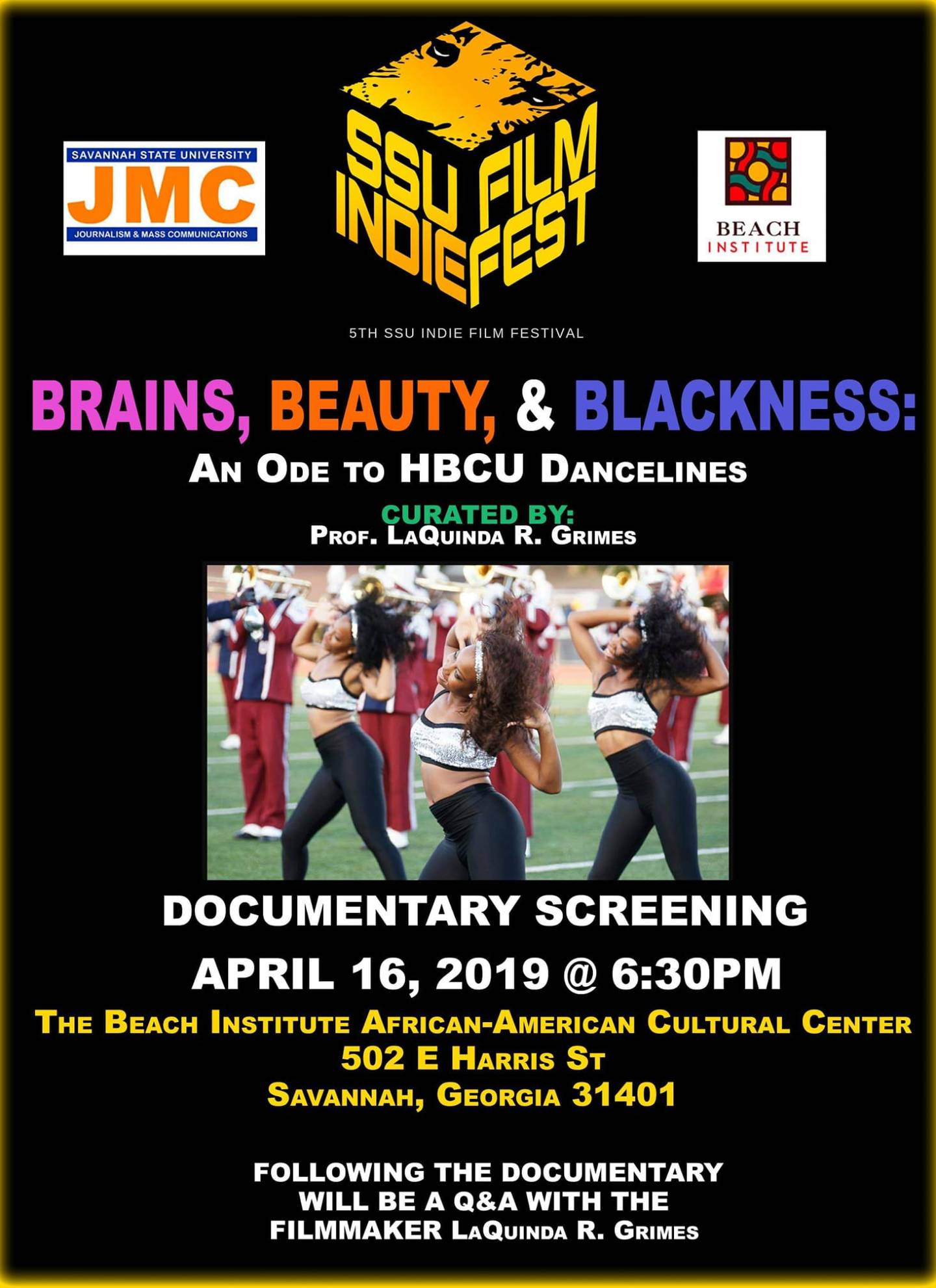 57019506_2178151342281254_4319309529956220928_o-1440x1981 HBCU Arts: Savannah State University Film Fest Bolsters the Next Generation of Film Makers