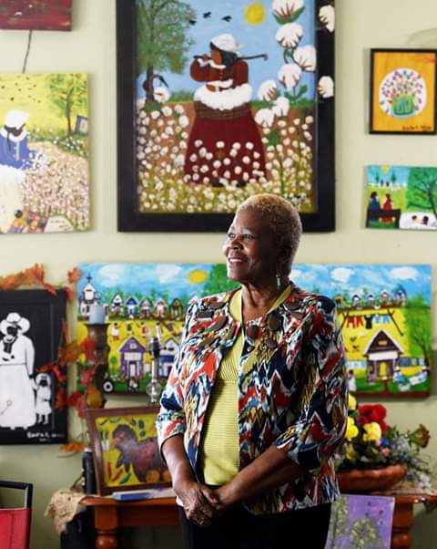 FB_IMG_1550973026897 Bertha Harris, Louisiana Folk Art Legend Pursues Art After 60