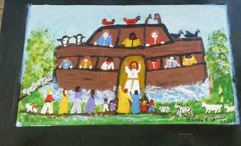 IMG_1519066976472 Bertha Harris, Louisiana Folk Art Legend Pursues Art After 60