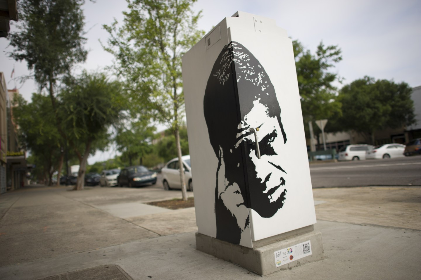 """James-Brown-Art-the-Box-1440x958 """"Get on the Good Foot"""" in Augusta, GA. – Celebration of James Brown's Birthday (May 3rd)"""