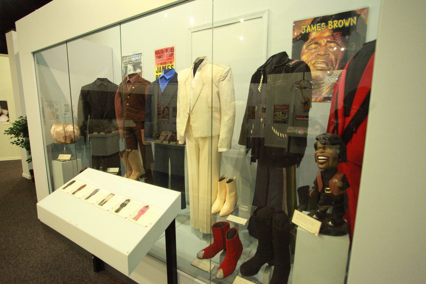 """James-Brown-Exhibit-outfits-1440x960 """"Get on the Good Foot"""" in Augusta, GA. – Celebration of James Brown's Birthday (May 3rd)"""