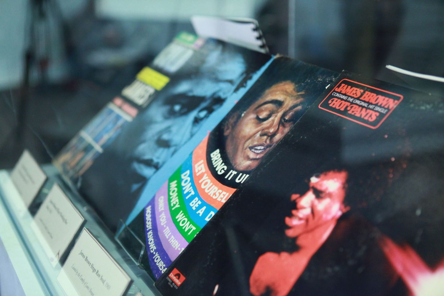 """James-Brown-Records-at-AMH-1440x960 """"Get on the Good Foot"""" in Augusta, GA. – Celebration of James Brown's Birthday (May 3rd)"""