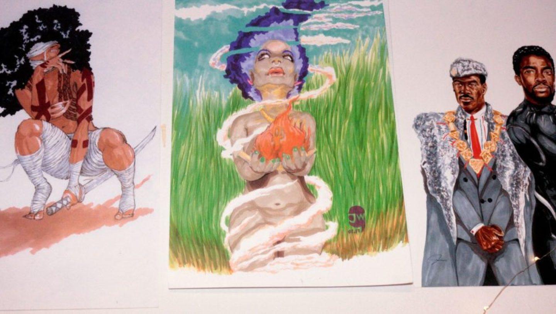 jen2-1440x813 HBCU Dorm Tour: Spelman College Student's Black Art Collection