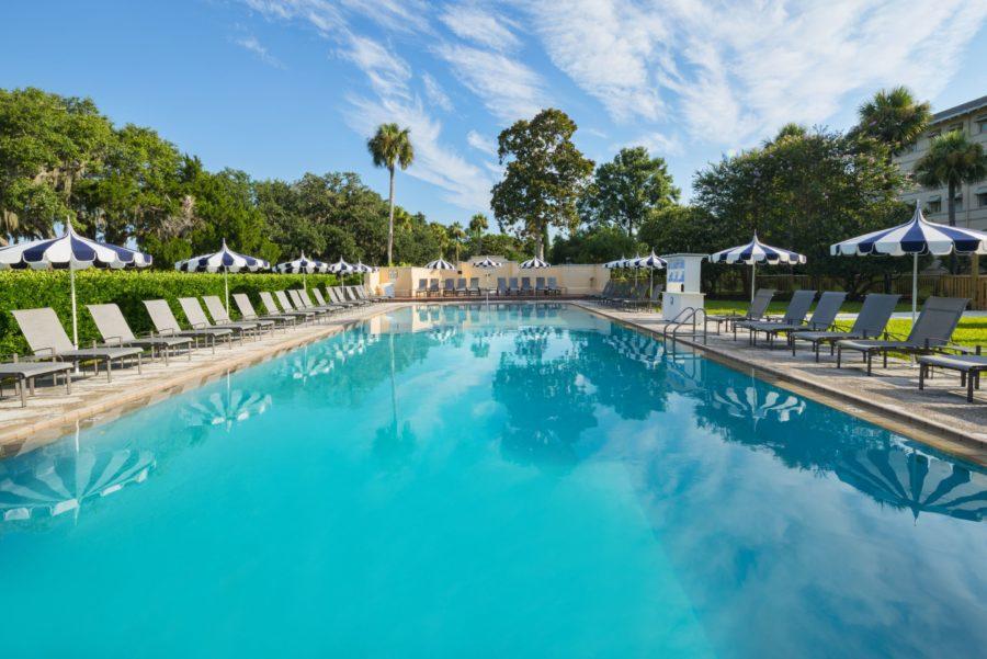 JIC-Pool-1 Southern Travel Destination: Jekyll Island Club Resort