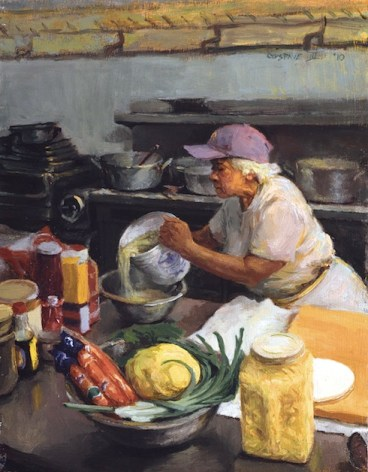 PouringOysters-y-Gustave-Blache-III Rest Well, Chef Leah Chase, 'Queen of Creole Cuisine'