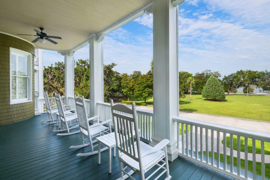 Sans-Souci-Balcony Southern Travel Destination: Jekyll Island Club Resort