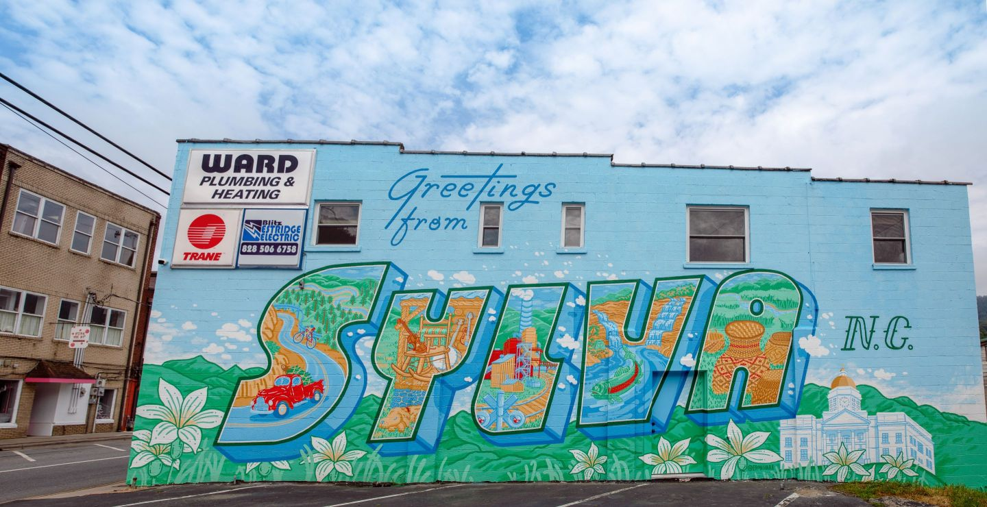 Sylva-Mural Five Family-Friendly NC Mountain Towns to Visit This Summer