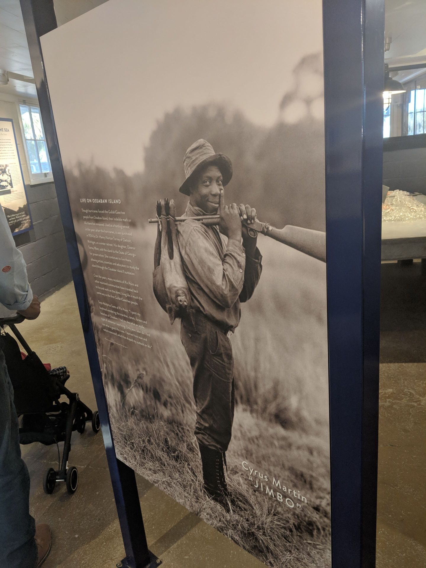 Pin Point: African American Heritage Site on the Georgia Coast - A person standing posing for the camera - Soldier