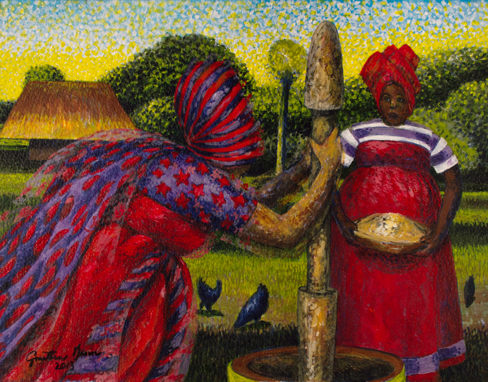 Rice-Morning-Tasks Lowcountry Food Heritage: Celebrating Rice Culture and the Gullah-Geechee People