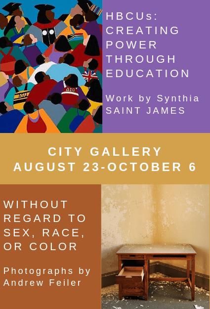 unnamed Black Art Exhibit: HBCUs: Creating Power Through Education by Synthia SAINT JAMES