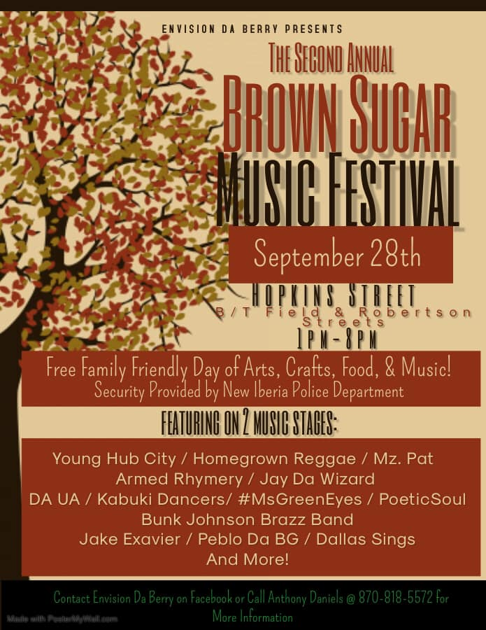 Brown-Sugar-Music-Festival Black Heritage Travels: Welcome Fall by Attending a Fall Harvest or Heritage Festival