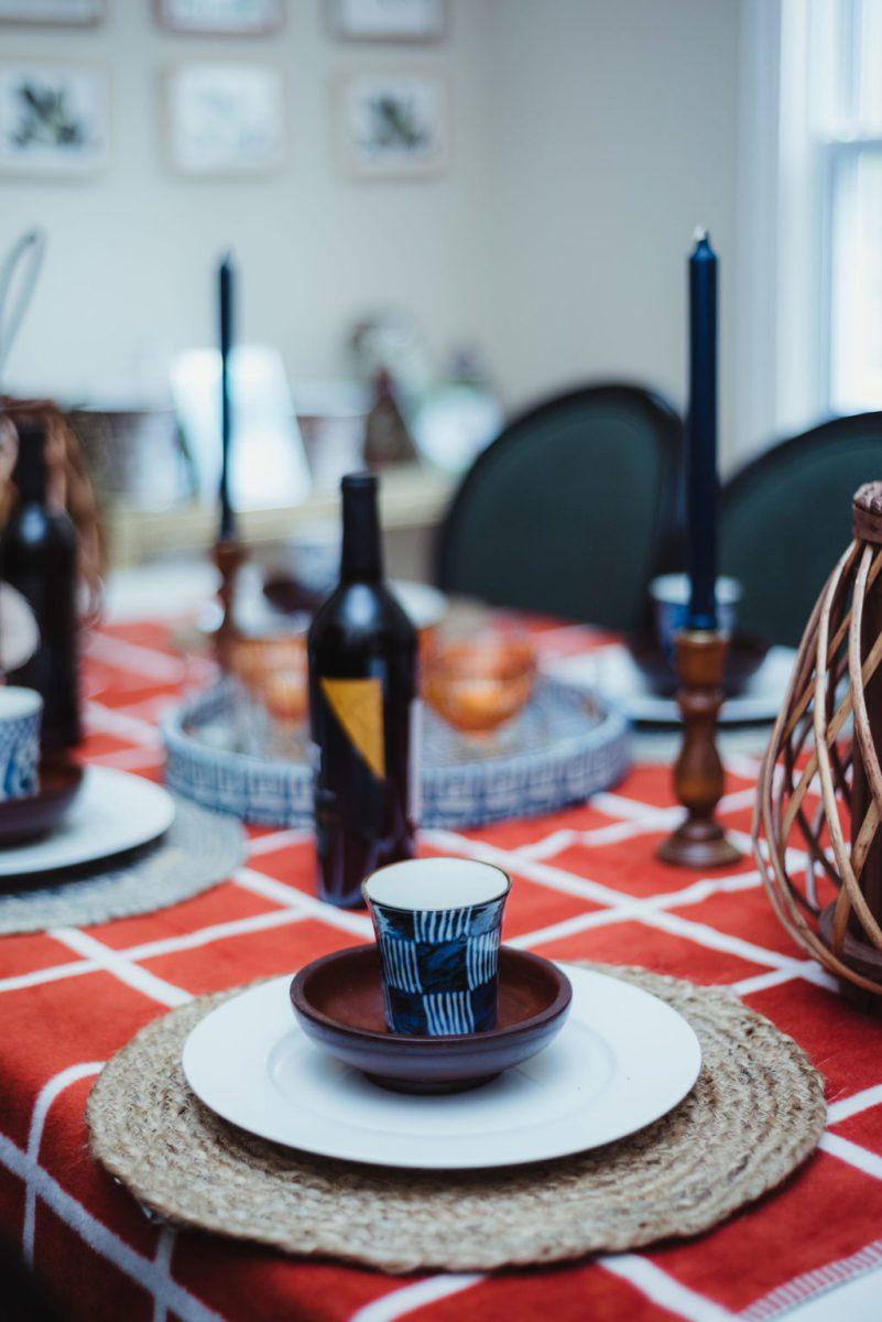 DSC_4752-1 Orange and Blue Fall Inspiration: Fall Tablescape Decor