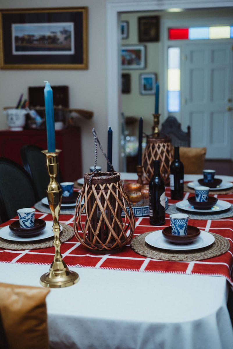 DSC_4761-2 Orange and Blue Fall Inspiration: Fall Tablescape Decor