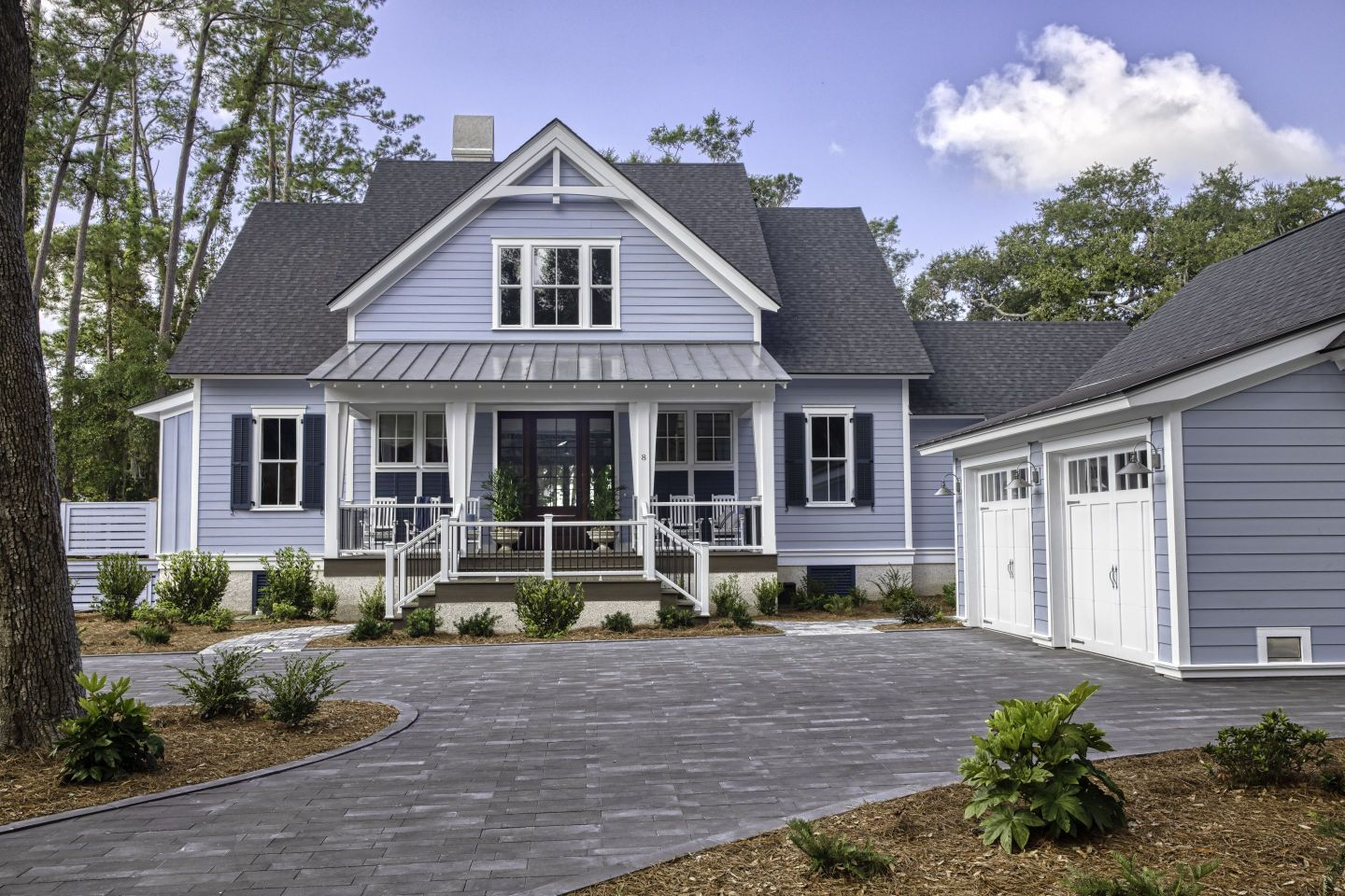 HGTV-Dream-Home-2020-Front-Yard Lowcountry Vacation Home Style in Hilton Head with HGTV Dream Home 2020
