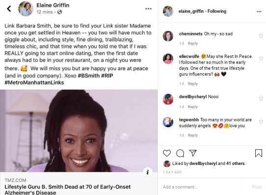 Screenshot-2020-02-24-at-11.23.46-PM In Honor of B. Smith: 10 Instagram Tributes to the Ultimate Hostess