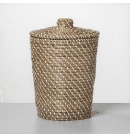 Solid Bathroom Wastebasket White – Opalhouse
