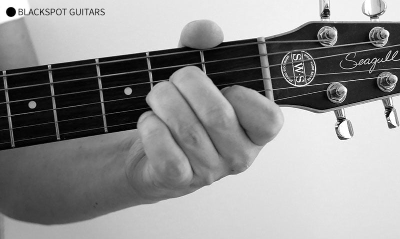 A Minor 2 Guitar Chord Finger Position