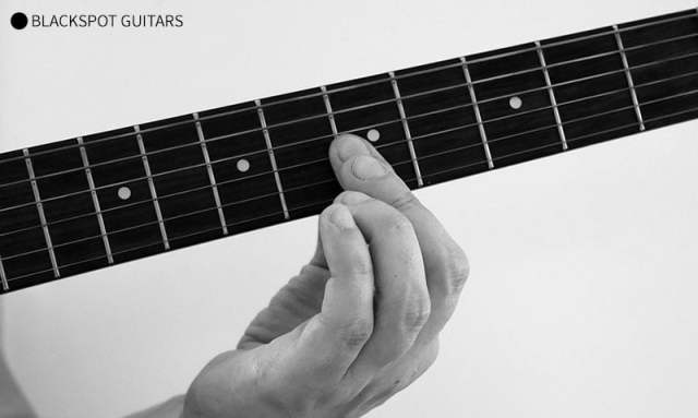 A Minor 4 Guitar Chord Finger Position
