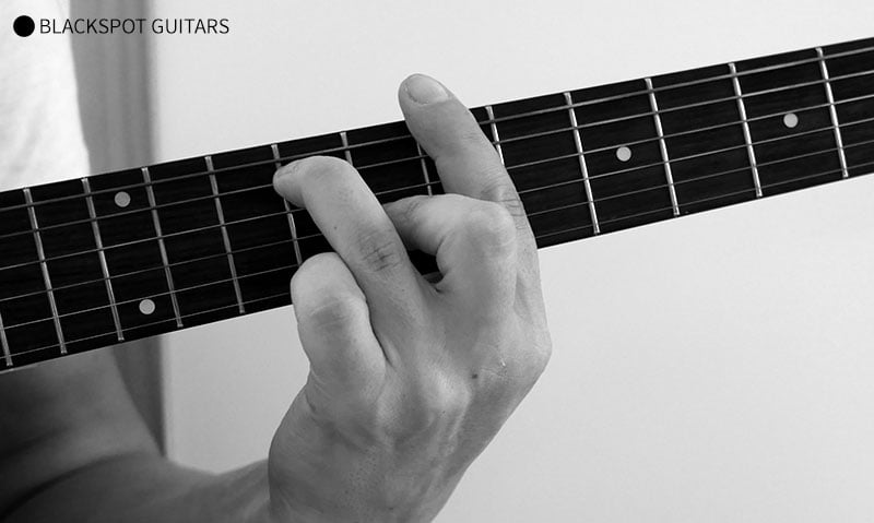 B7 Barre Guitar Chord Finger Position