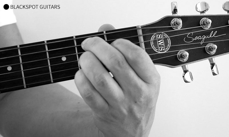3 Easy B7 Guitar Chord Variations With Finger Charts
