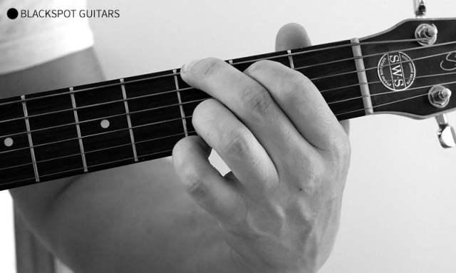 G Major Guitar Chord Finger Position