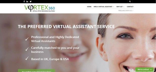 Vortex 360 Website Launch