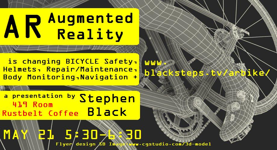 A presentation about AR and its impact upon the world of bicycling.