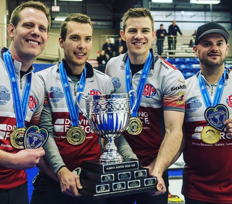 Blackstone Industrial Services' – Brendan Bottcher headed to the Brier!