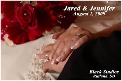 Jared & Jennifer 08.01.09 – Beresford SD Wedding Pictures
