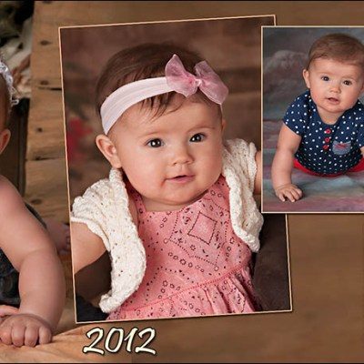 Kynley's 6 Month Magnet – Madison South Dakota Baby Photography