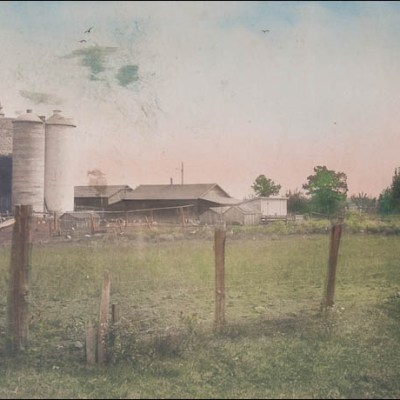 Before and After – Farm Picture Restoration