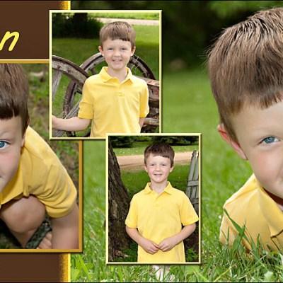 Simon's Magnet – Madison South Dakota Children's Photography