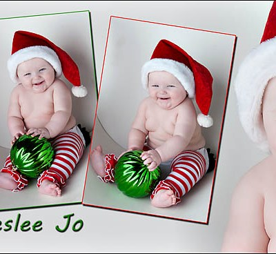 Preslee's Christmas Look – Rutland South Dakota Baby Pictures