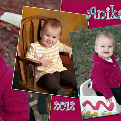 Anika's 1st Birthday Magnet – Madison South Dakota Baby Photography