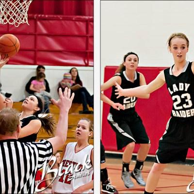 Chester vs ORR Girls Basketball – Chester South Dakota Sports Photography